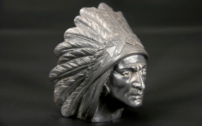 mascotte bouchon de radiateur indien apache. Black Bedroom Furniture Sets. Home Design Ideas