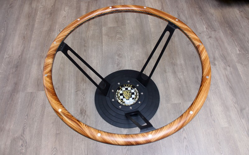 STEERING WHEEL LOW TABLE