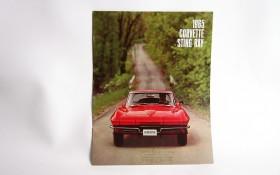 1965 CORVETTE STING RAY CATALOG