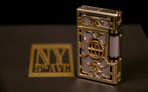 "S.T.Dupont lighter ""New-York 5th Avenue"""