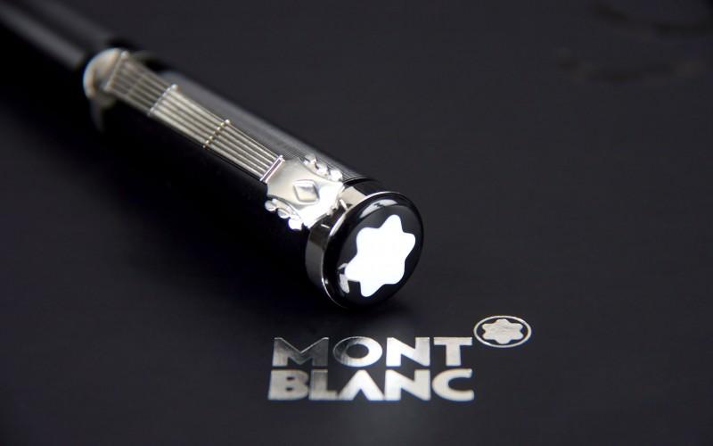 stylo mont blanc a paris