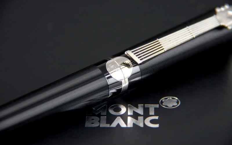 stylo roller montblanc john lennon occasion dition limit e 2010. Black Bedroom Furniture Sets. Home Design Ideas