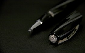 "Stylo Porte-mine Visconti ""Black Divina"""