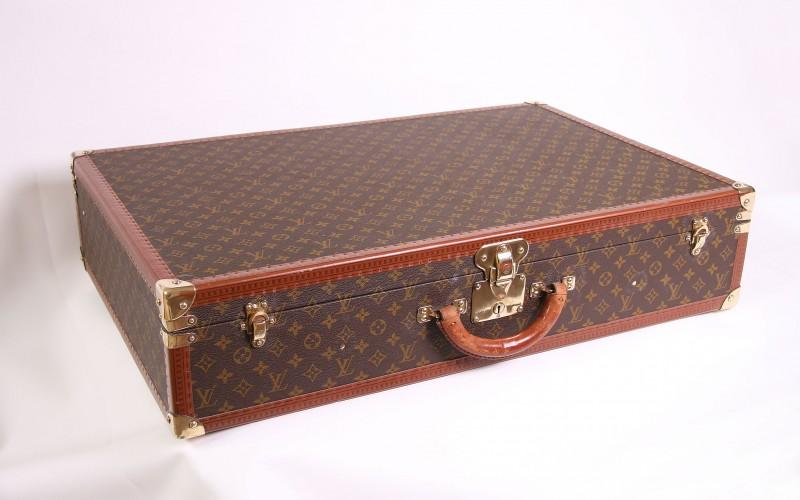 valise louis vuitton bisten 80 d 39 occasion parfait tat. Black Bedroom Furniture Sets. Home Design Ideas